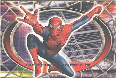 Spiderman 3 The Movie Red/Blue Spiderman Chase Card R6