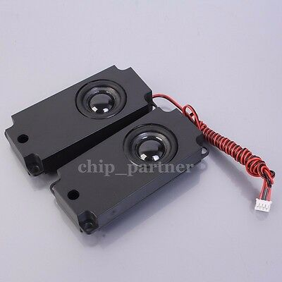 2Pcs 8ohm 5W Audio Speaker Loudspeaker 110045 4pin cable For LCD TV DIY Replace