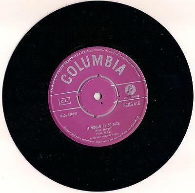 """Insanely Rare PINK FLOYD 7"""" Greek JULIA DREAM -IT WOULD BE SO NICE 1968 Columbia"""