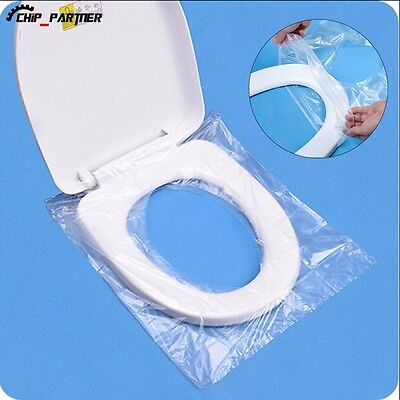 6pcs/set Disposable Toilet Seat Cover Camping Hygienic Pad Public Travel Women