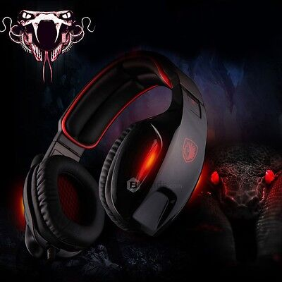Sades SA - 902 7.1 Sound Channel USB Gaming Headset with Mic Voice Control