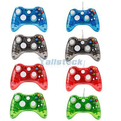 Wireless/USB Wired Controller Gamepad Joypad For Microsoft Xbox 360 PC Windows