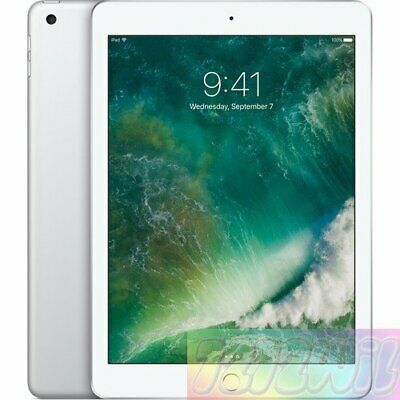 "Apple  iPad (2017) WiFi  Silver 128GB 9.7""  Unlocked AU WARRANTY Tablet"