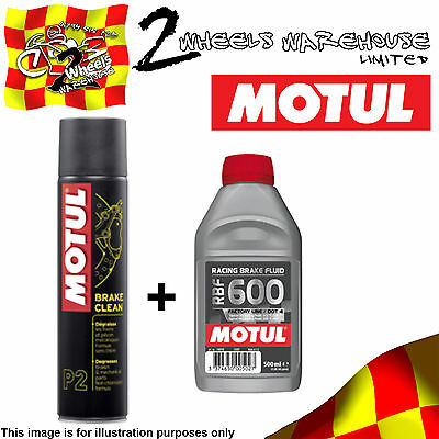 Motul Brake Clean And Fluid Rbf600 Racing Gsxr750 10 2010 L0 Cleaner Kit11