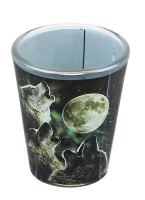 Three Wolf Moon 2oz Shot Glass