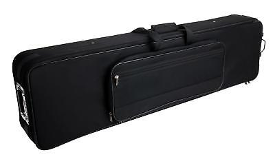 KEYBOARD PIANO TASCHE ROLLEN HARD TROLLEY CASE KOFFER CARRY GIG BAG 132x33x15 CM