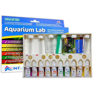 NT Labs Aquarium Lab Multi Test Kit Tropical Fish Tank Water Testing NTLabs