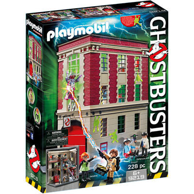 PLAYMOBIL Ghostbusters Firehouse Headquarters 9219