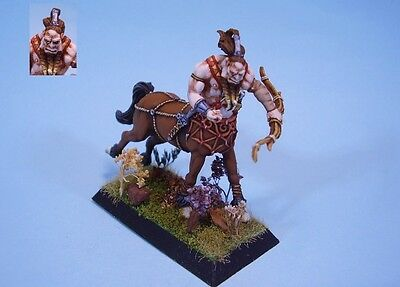 Confrontation painted miniature Centaur archer