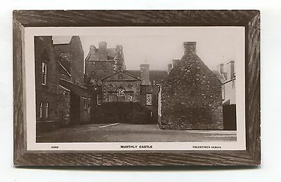 Murthly Castle, Perthshire - old real photo postcard