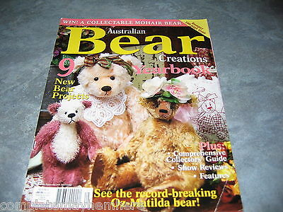 Australian Bear Creations Vol 9 No. 6 Year book Teddy Bears Clothes Patterns
