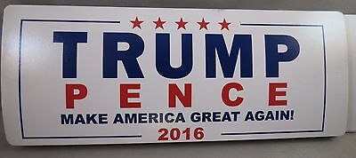 WHOLESALE LOT OF 10 TRUMP PENCE  MAGNET bumper sticker MAKE AMERICA GREAT AGAIN