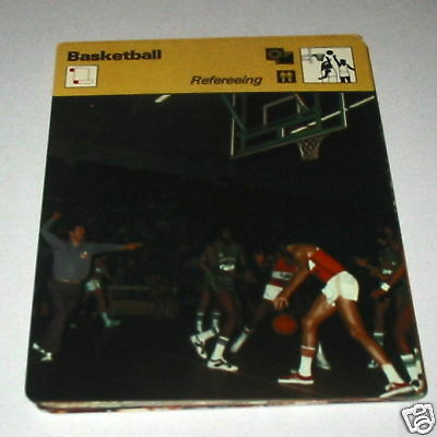 Basketball - Refereeing SC Collector card