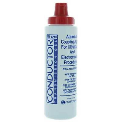Chattanooga Conductor Transmission Soluble Non-greasy Ultrasound Electrical Gel