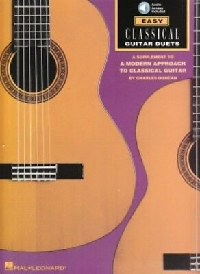EASY CLASSICAL GUITAR DUETS Book & CD