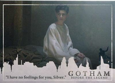 Gotham Season 2 Penguin Parallel Base Card #36 ?I have no feelings for you, Sil