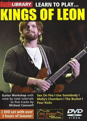 LEARN TO PLAY KINGS OF LEON Lick Library DVD