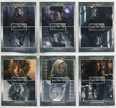 Gotham Season 2 Bad & Beautiful Complete Chase Card Set BB1-6