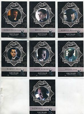 Gotham Season 2 Complete Penguin New Day Dark Knight Chase Card Set ND1-7