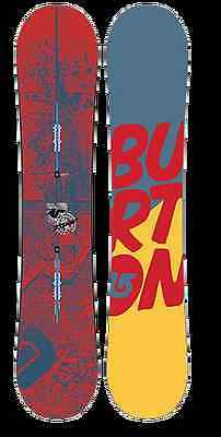 Burton Descendant Wide Freestyle Snowboard 2015 Größe: 155w