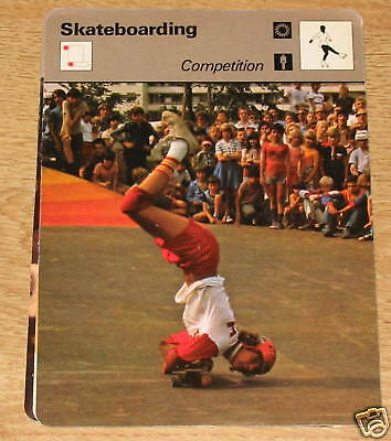 Skateboarding competition - SC Collector card