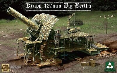TAKOM #2035 German Empire Krupp 420mm Big Bertha in 1:35