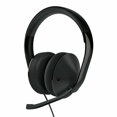 Microsoft Xbox One Stereo Headset - Black- for Microsoft Xbox One - No Adapter ™
