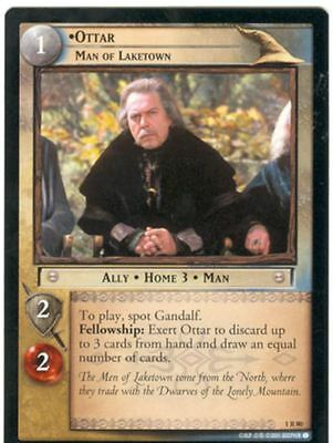 Lord Of The Rings CCG FotR Card 1.R80 Ottar Man Of Laketown