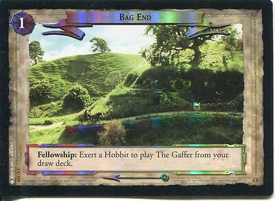 Lord Of The Rings CCG FotR Foil Card 1.U319 Bag End