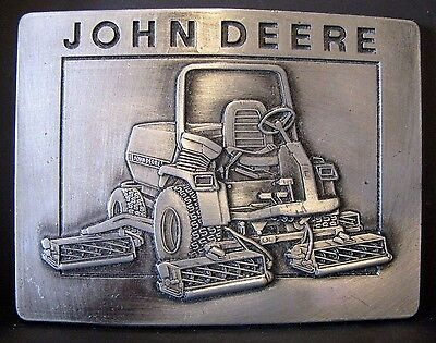 1988 John Deere Five-Gang Rotary Mower Belt Buckle Award Ltd Ed  1 of 200 turf