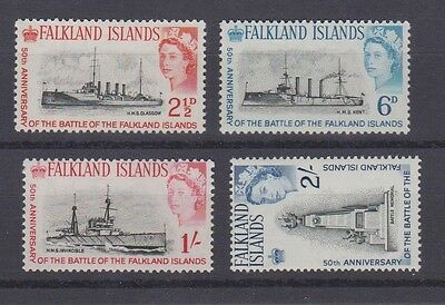 FALKLAND ISLANDS 150-53 1964 set mint