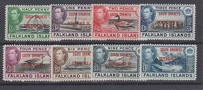FALKLAND ISLANDS Dependencies 4L1-8 Orkneys 1944