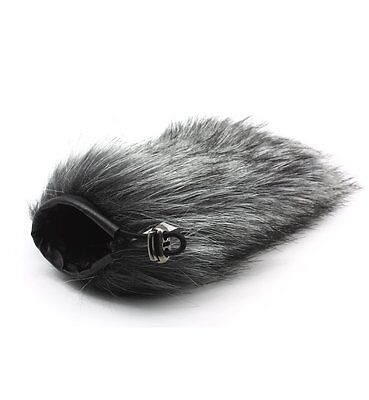 HN-17 Outdoor Furry Mic Windscreen Wind Cover Microphone Muff for RODE GO