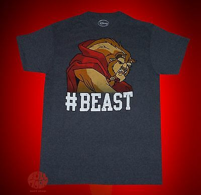 New Disney Beauty and the Beast #Beast Mens Classic Vintage T-Shirt