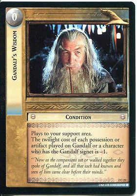 Lord Of The Rings CCG Card MoM 2.C23 Gandalf's Wisdom