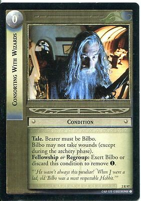 Lord Of The Rings CCG Card MoM 2.R97 Consorting With Wizards