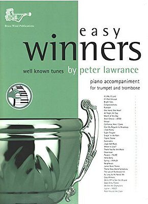 EASY WINNERS Lawrance Tpt & Tbn Piano Accomps
