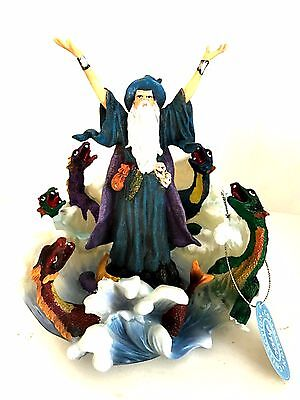 Wizard and Dragons Figurine Apex Collection Mythical Series 7 inches Tall A4052