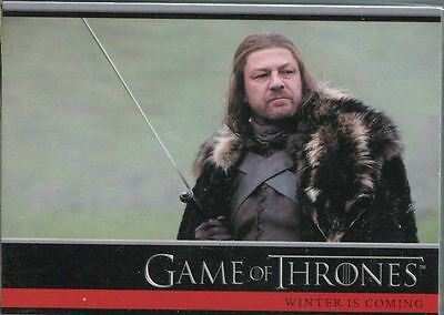 Game Of Thrones Season 1 Complete 72 Card Base Set