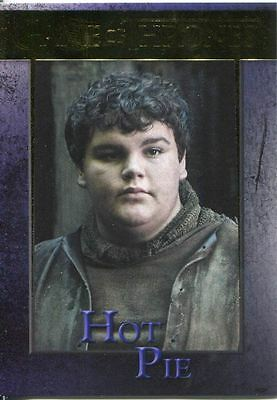 Game Of Thrones Season 3 Gold Parallel Base Card  69 Hot Pie