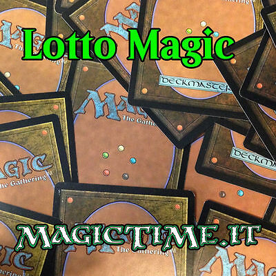 Lotto magic 100 Terre Base 20x Pianura/Isola/Palude/Montagna/Foresta ita/eng
