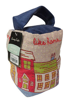 Country Club Door Stop No Place Like Home Tapestry Cotton Quirky Stopper Wedge
