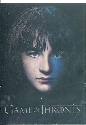 Game Of Thrones Season 3 Gallery Chase Card  PC11 Bran Stark