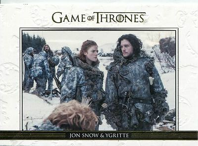 Game Of Thrones Season 3 Relationships Gold Parallel DL07 Jon Snow and Ygritte