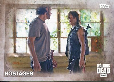Walking Dead Season 5 Complete 100 Card Base Set