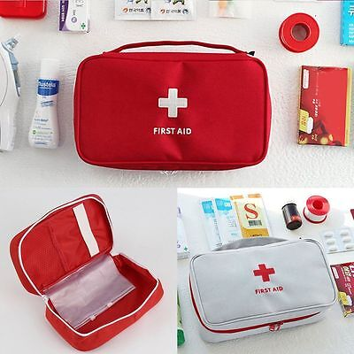 Emergency Medical Empty Bag First Aid Pack Survival Outdoor Rescue Kit 2 Colors