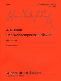 BACH WELL TEMPERED CLAVIER Vol 1 Dehnhard Piano