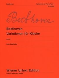 BEETHOVEN VARIATIONS Vol 1 Ratz Seidlhofer Piano