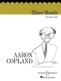 COPLAND THREE MOODS Piano