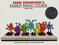 THOMPSON EASIEST PIANO COURSE Part 1 Book/CD*